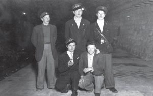 Gruppo di addetti alla stazione Precedenze di Ca' di Landino