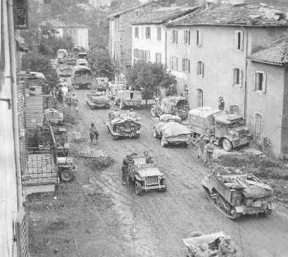 The liberation of Castiglione